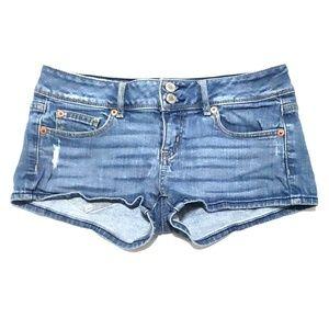 《AEO》Jean Short Shorts Sz 4 Booty Shorts Summer
